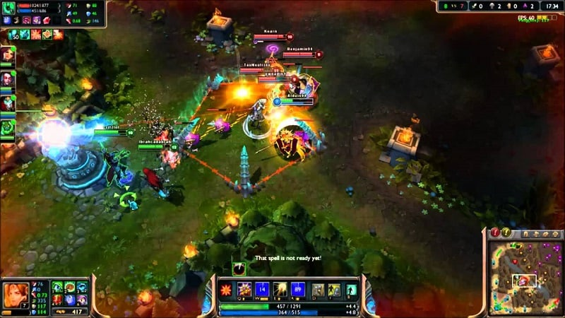 League of Legends بخش دوم